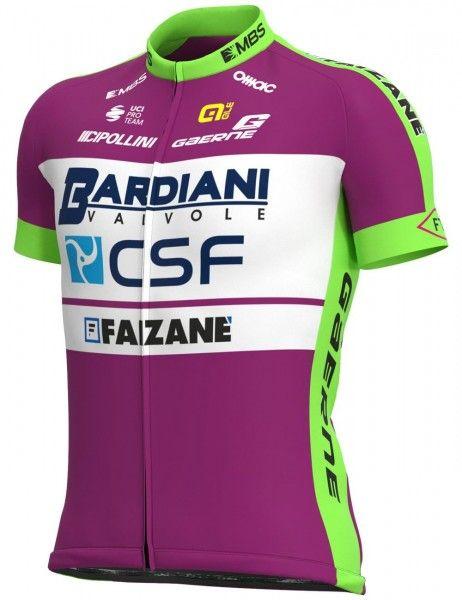 Set de ciclismo (maillot manga corta, culotte corto) del equipo BARDIANI CSF FAIZANE' 2021 - ALE
