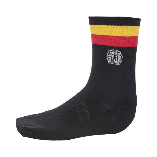 Belgien Nationalteam 2020 Fahrrad Socke schwarz 2