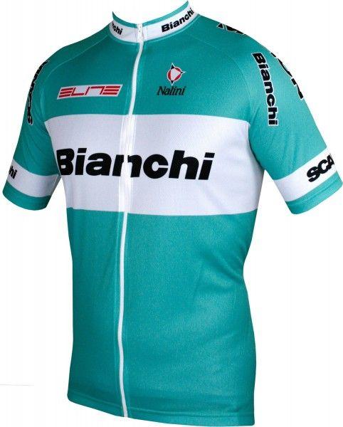 Bianchi 2003 Kurzarmtrikot langer Reißverschluss 2