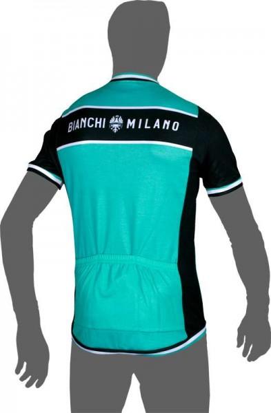 Bianchi Milano BURGIO short sleeve jersey green