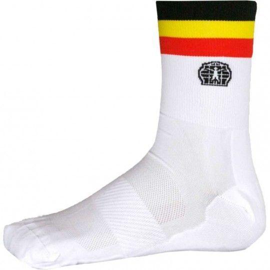 Belgien Nationalteam 2020 Fahrrad Socke weiß 2