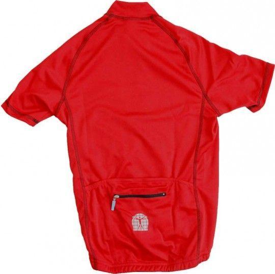 Bioracer Radtrikot Kinder rot 2