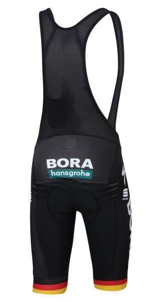 BORA-hansgrohe deutscher Meister 2019 Trägerhose kurz - Sportful Radsport-Profi-Team Größe L (4)