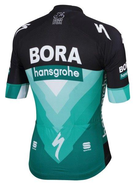 BORA-hansgrohe 2019 Radtrikot kurzarm (langer Reißverschluss) - Sportful Radsport-Profi-Team Größe XL (5)