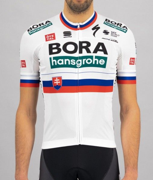 Bora Hansgrohe 2021 slovakischer Meister Radtrikot kurzarm 2