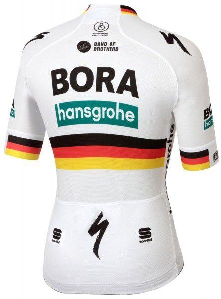 Bora Hansgrohe 2020 deutscher Meister Radtrikot kurzarm 2