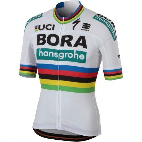 BORA-hansgrohe Straßenrad Weltmeister 2018 Radtrikot 1