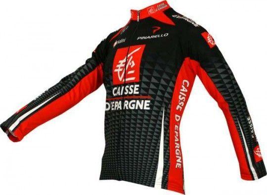 Caisse d'Epargne 2010 Nalini Radsport-Profi-Team - Radsport-Langarmtrikot