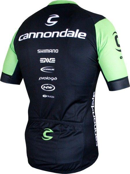 Cannondale FACTORY RACING 2018 Radtrikot kurzarm (langer RV) - Sugoi Radsport-Profi-Team Größe M (3)