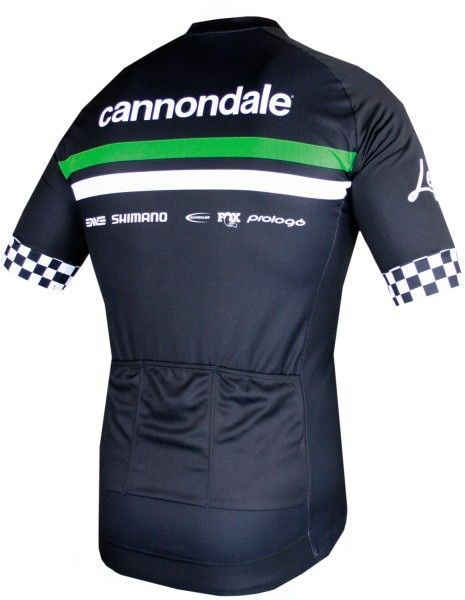 Cannondale FACTORY RACING 2019 short sleeve cycling jersey (long zip) - Shimano professional cycling team size XXL (6)