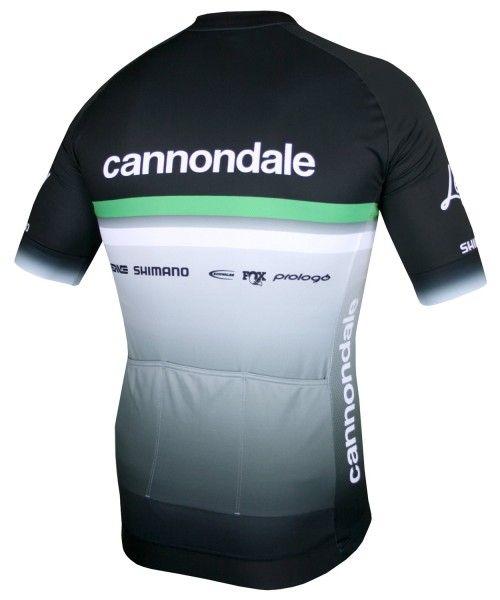 Cannondale FACTORY RACING 2020 Radtrikot kurzarm schwarz 2