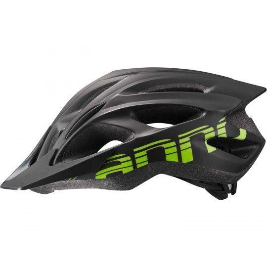 Cannondale Fahrradhelm QUICK schwarz/grün/matt Größe S-M (52-58 cm)