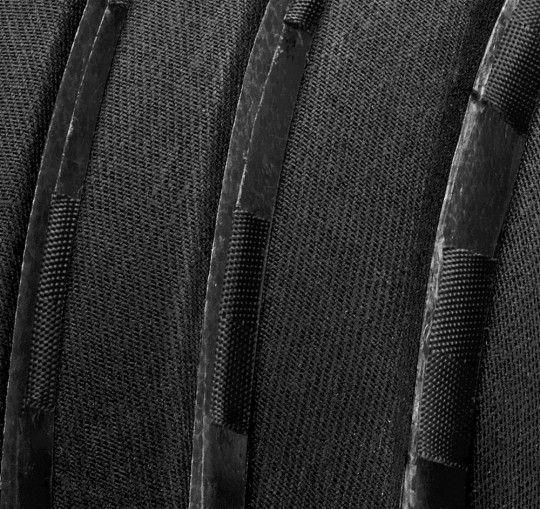 Carrera Foldable CRIT WP Fahrradhelm black waxed 2