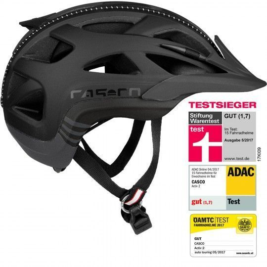 CAsco ACTIV 2 Fahrradhelm schwarz 2