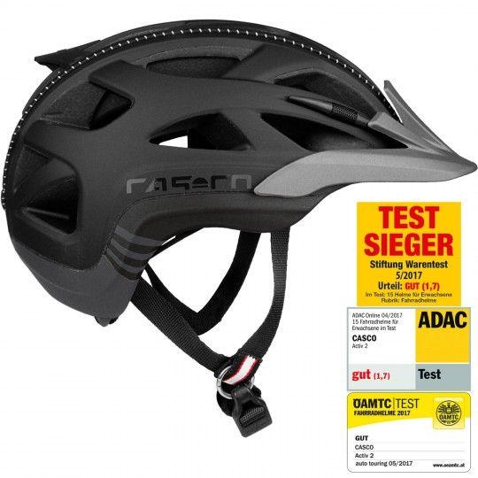 Casco ACTIV 2 Fahrradhelm schwarz Größe S (52-56 cm)