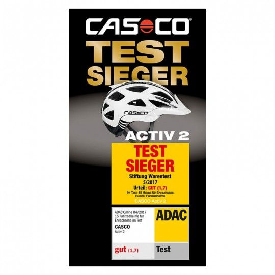 Casco ACTIC 2 FEMME Fahrradhelm Testsiegel 1