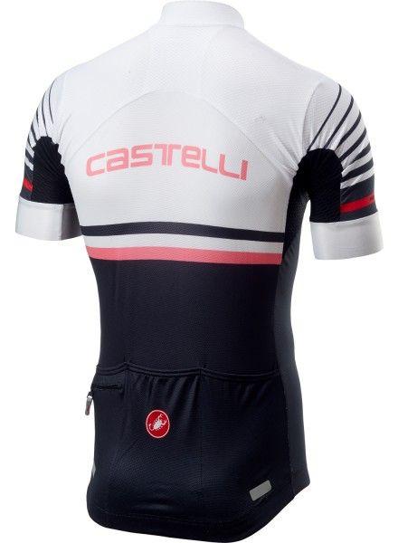 Castelli FREE AR 4.1 Radtrikot kurzarm weiß/schwarz 2