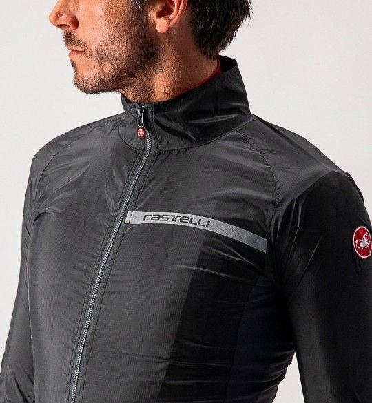 Castelli SQUADRA STRETCH - windproof cycling jacket black
