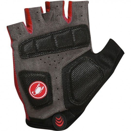 Castelli Tempo Radhandschuh rot 2
