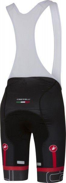 Castelli VOLO - Trägerhose kurz schwarz/weiß Größe M (3)