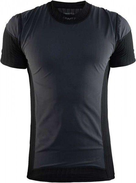 Craft Active Extreme 2.0 Windstopper Kurzarm Unterhemd schwarz 2