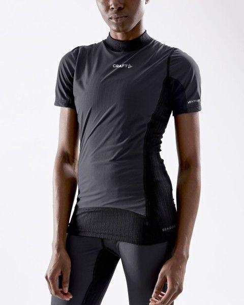 Craft Active Extreme X Damen kurzarm Unterhemd windschutz sw 2