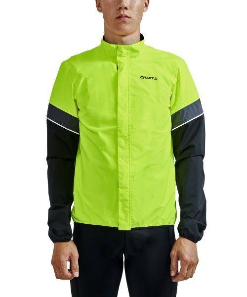 Craft Core Endur Hydro Jacket Fahrrad Regenjacke neongelb 2