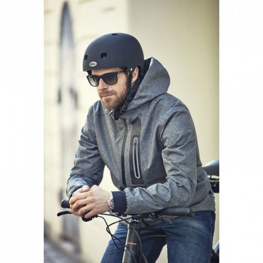 Craft Ride Rain Jacket Fahrrad Regenjacke grau 2