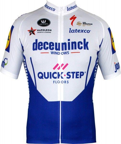Deceunick-Quick-Step 2020 Radtrikot kurzarm 1