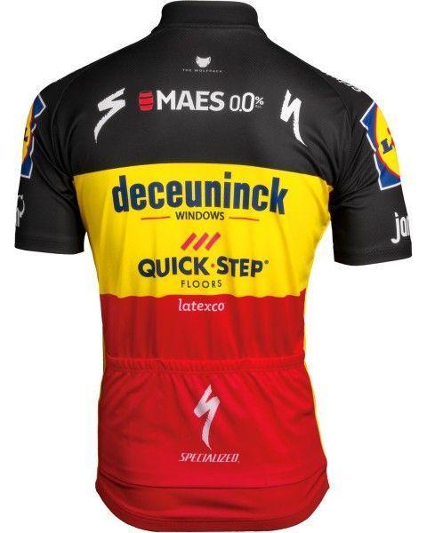 Deceuninck Quick-Step belgischer Meister 2019 Radtrikot 2