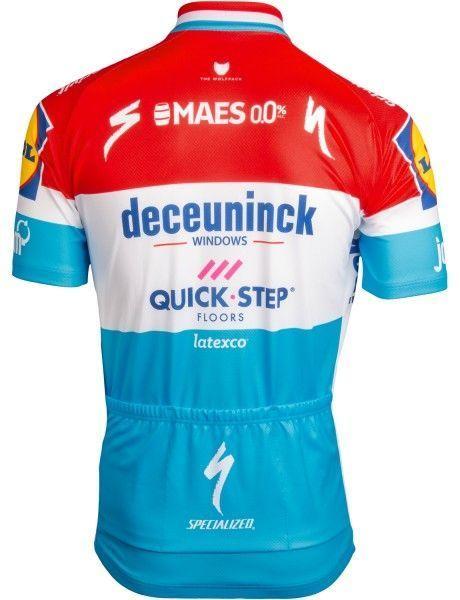 Deceuninck Quick-Step luxemburger Meister 2019 Radtrikot 2
