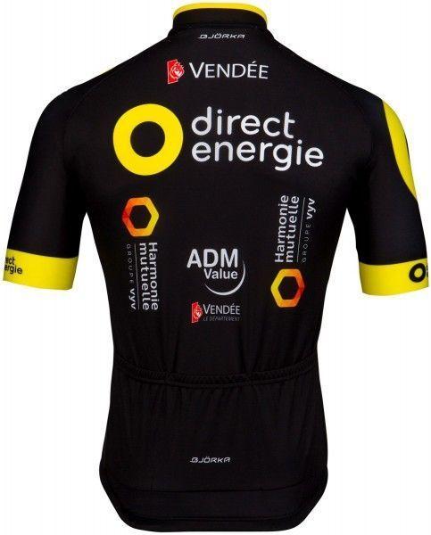Direct Energie 2018 Radtrikot kurzarm (langer Reißverschluss) - Wilier Radsport-Profi-Team Größe XL (5)