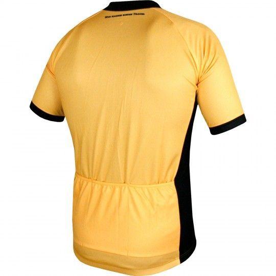 Dynamo Dresden Heimtrikot Radtrikot gelb schwarz 2