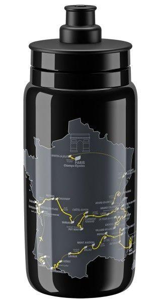 Tour de France 2020 Trinkflasche 550 ml schwarz 2