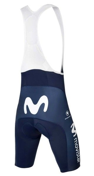 MOVISTAR 2019 cycling bib shorts Endura professional cycling team size XL (5)