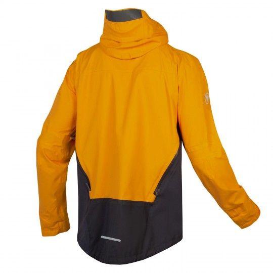 Endura MT500 Fahrrad Regenjacke orange/grau 2