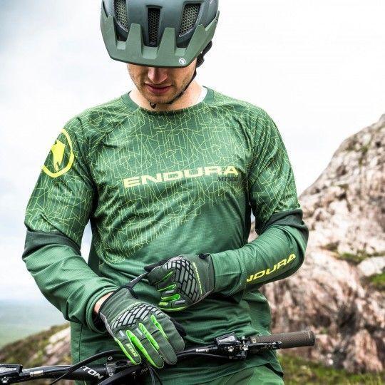 Endura MT500 II LTD MTB Handschuhe langfinger grün 2