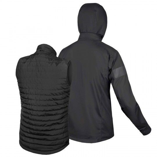 Endura URBAN 3in1 Regenjacke anthrazit 2