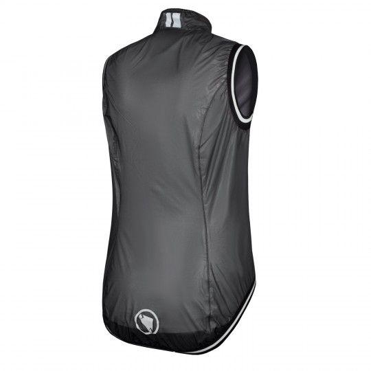 Endura WMS FS260-PRO ADRENALIN II womens wind/waterproof cycling gilet black-translucent (E9109BK)