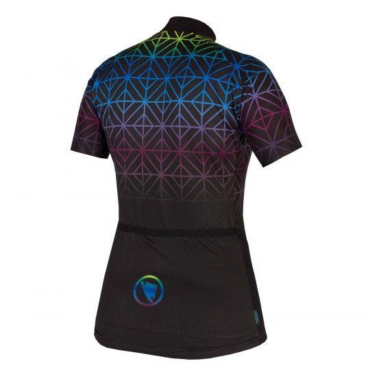 Endura WMS PT MAZE LTD womens short sleeve cycling jersey black (E6156BK)
