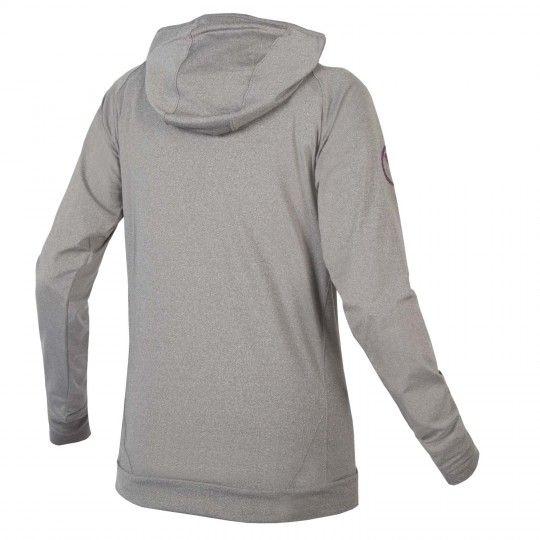 ENDURA Singletrack Hoodie - womens MTB/Freeride sweatshirt gray (E6130GY)