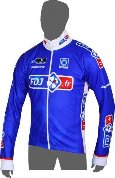 FRANCAISE DES JEUX (FDJ.fr) 2014 Radsport-Winterjacke - Radsport-Profi-Team