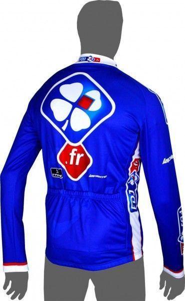 Francaise des Jeux (FdJ) 2014 Fahrrad Langarmtrikot 2