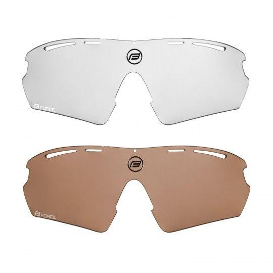 Force AEON Rad-/ Sportbrille weiß/schwarz 2