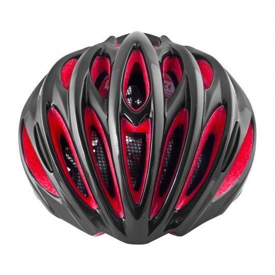 Force BAT Fahrradhelm schwarz/rot 2