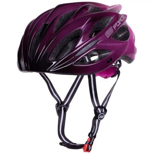 Force BULL HUE Fahrradhelm schwarz/pink 2