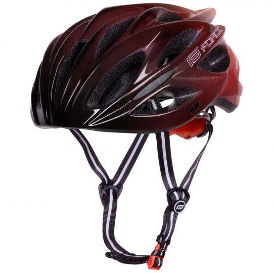 Force BULL HUE Fahrradhelm schwarz/rot 2