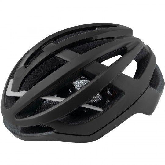 Force LYNX Fahrradhelm schwarz matt glänzend 2