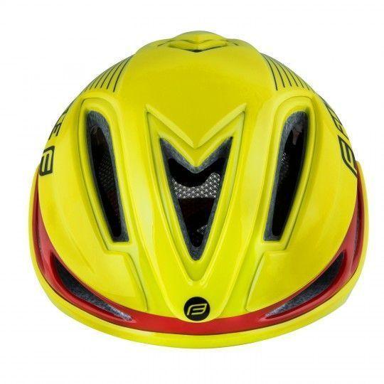 Force REX Fahrradhelm neongelb 2