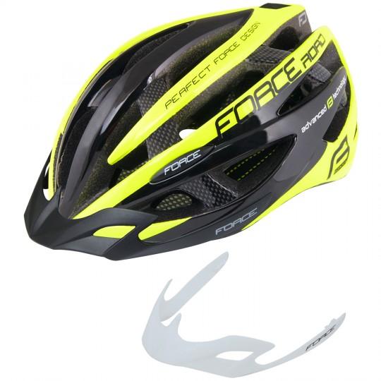 Force ROAD Fahrradhelm neon gelb 2